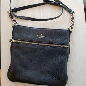 Kate spade Melisse black leather crossbody bag